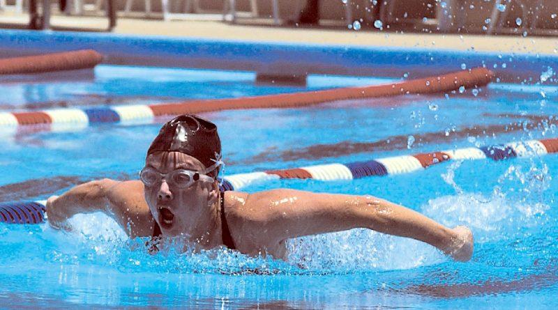 Swimming Record 1