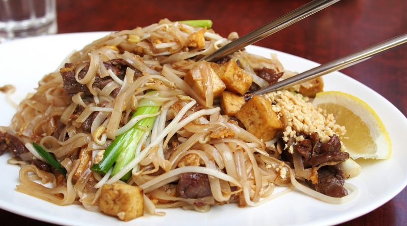 Thai Fried Noodle 1